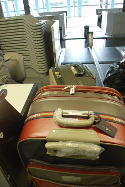 這次行李是40.5...呼~~