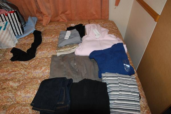 我買的衣服~~