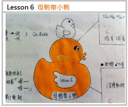 Lesson 6 母鴨帶小鴨