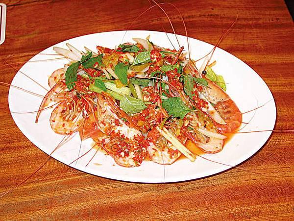 泰式酸辣蝦