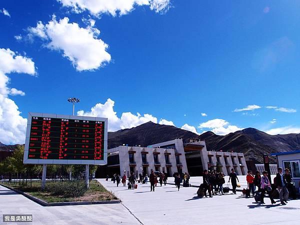 69-青藏鐵路 拉薩火車站 我是酸酸