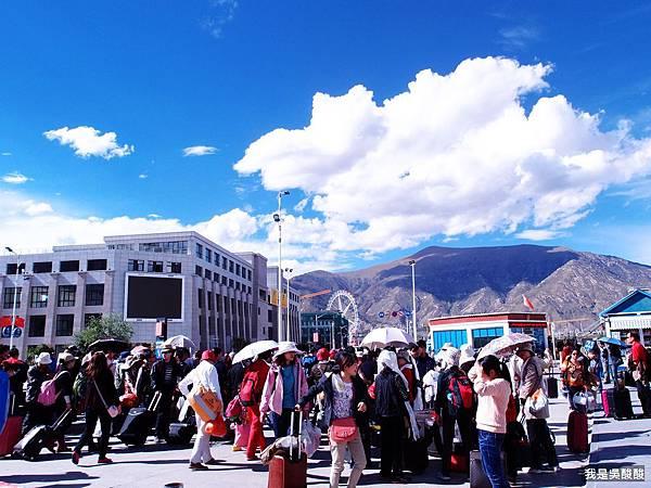 70-青藏鐵路 拉薩火車站 我是酸酸