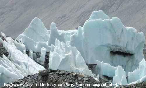 絨布冰川-2