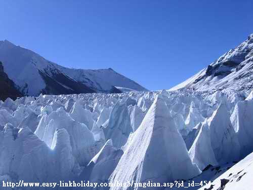 絨布冰川-1