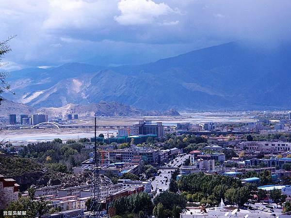 39-西藏布達拉宮遠眺拉薩