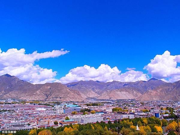 45-西藏布達拉宮 遠眺拉薩