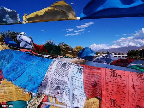 30-拉薩仙足島河畔美景