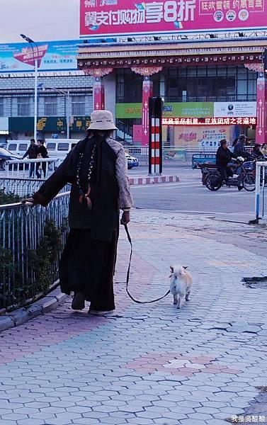 21-西藏拉薩街景 尋找烤羊肉