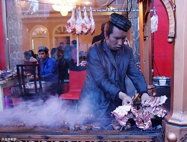 25-拉薩烤羊肉 新疆喀什柯夢羅蘭餐廳