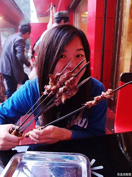33-拉薩烤羊肉 新疆喀什柯夢羅蘭餐廳