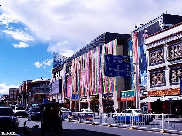 07-西藏拉薩街頭(我是吳酸酸)
