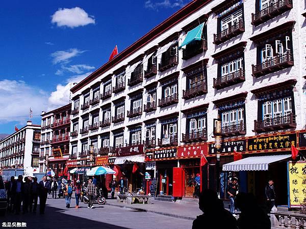 06-西藏拉薩街頭(我是吳酸酸)