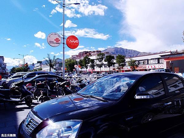 10-西藏拉薩街頭(我是吳酸酸)