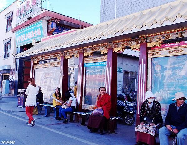 86-西藏拉薩街頭(我是吳酸酸)
