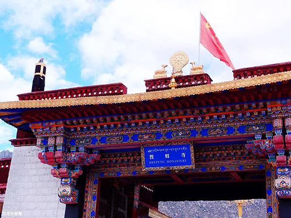 28-西藏拉薩 哲蚌寺 (我是吳酸酸)