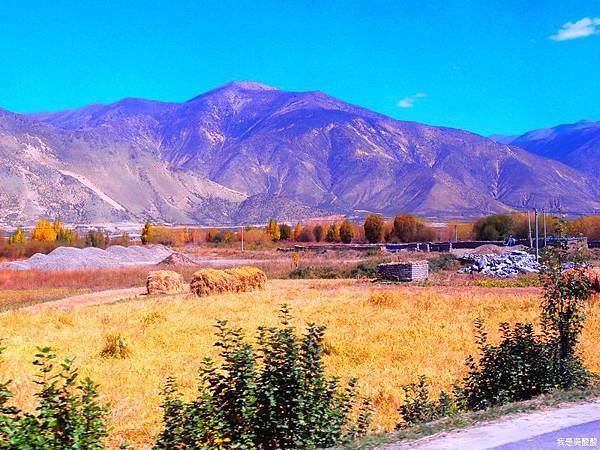 05-西藏拉薩風光 前往納木措途中(我是吳酸酸)