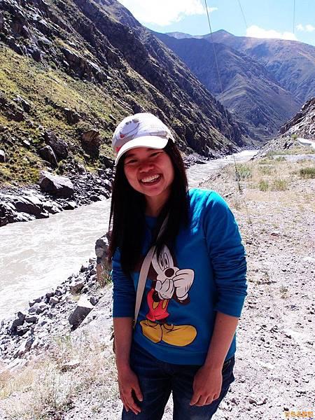 26-西藏拉薩風光 前往納木措途中(我是吳酸酸)