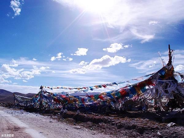 30-西藏拉薩風光 前往納木措途中(我是吳酸酸)