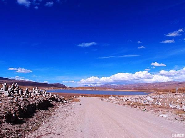 32-西藏拉薩風光 前往納木措途中(我是吳酸酸)