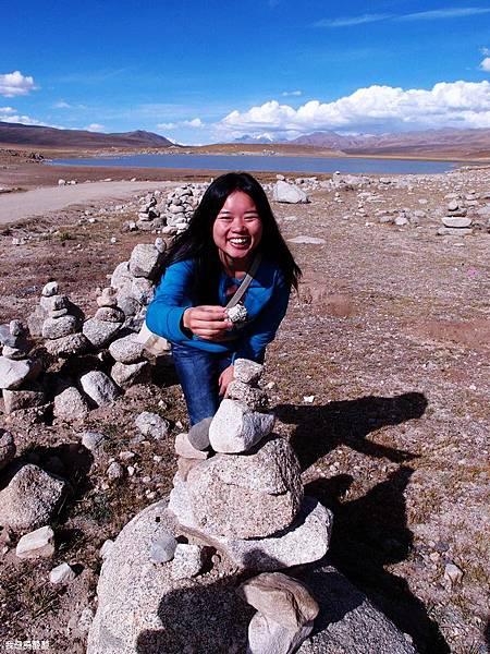 38-西藏拉薩風光 前往納木措途中(我是吳酸酸)