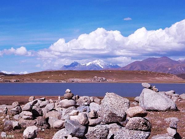 39-西藏拉薩風光 前往納木措途中(我是吳酸酸)
