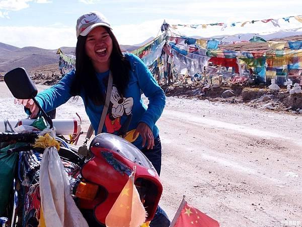 42-西藏拉薩風光 前往納木措途中(我是吳酸酸)