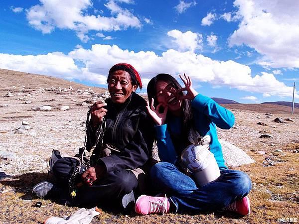 45-西藏拉薩風光 前往納木措途中(我是吳酸酸)