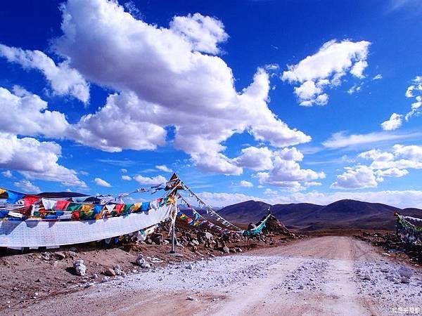 48-西藏拉薩風光 前往納木措途中(我是吳酸酸)