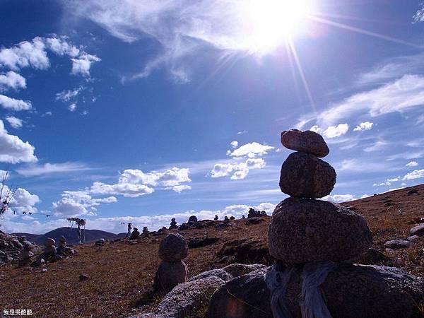 52-西藏拉薩風光 前往納木措途中(我是吳酸酸)