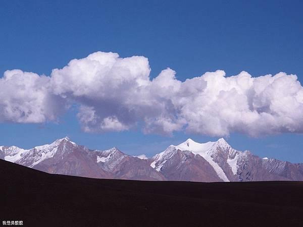 61-西藏拉薩風光 前往納木措途中(我是吳酸酸)