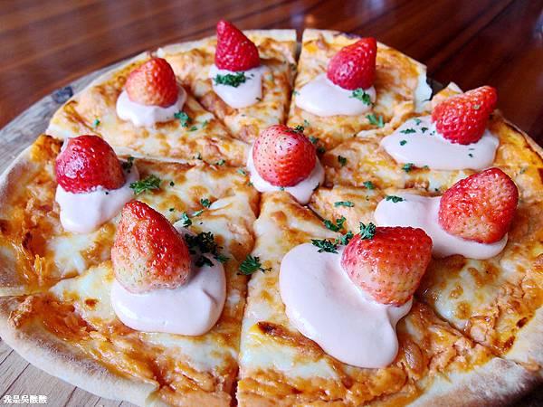 56-苗栗大湖巧克力雲莊 草莓披薩.JPG