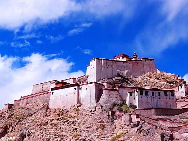 63-西藏日喀則江孜 宗山古堡