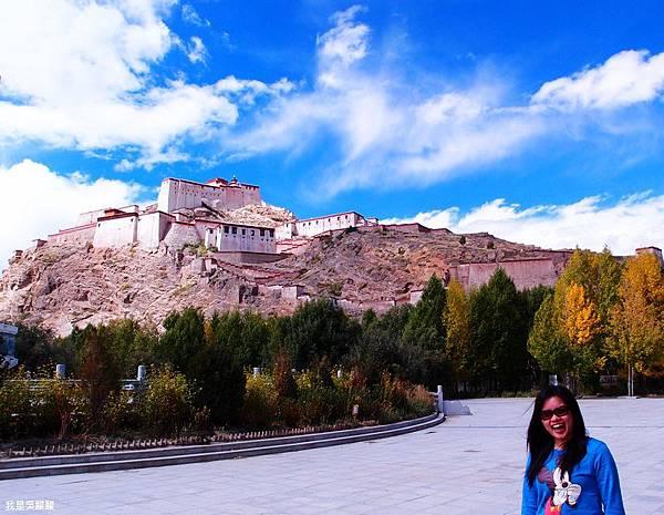 64-西藏日喀則江孜 宗山古堡
