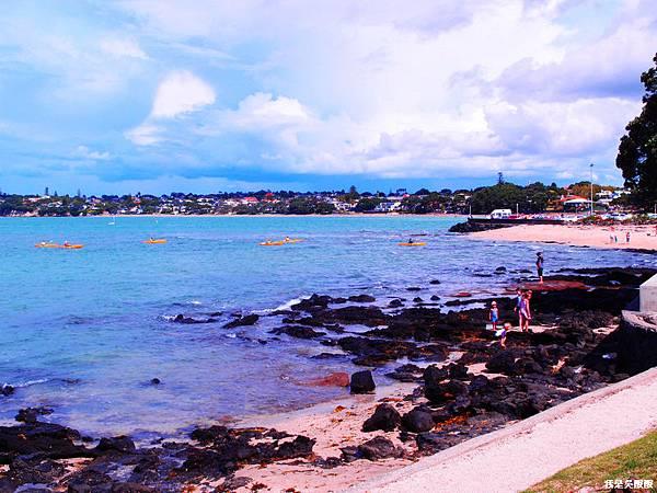103-紐西蘭奧克蘭 看海