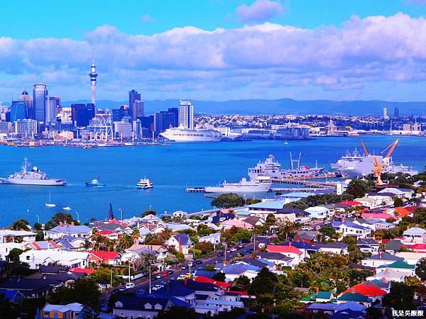 106-紐西蘭山上俯瞰奧克蘭