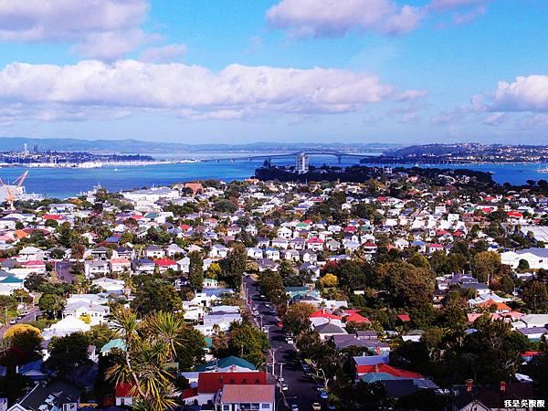 107-紐西蘭山上俯瞰奧克蘭