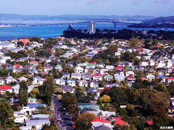 112-紐西蘭山上俯瞰奧克蘭