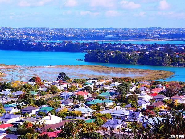 111-紐西蘭山上俯瞰奧克蘭