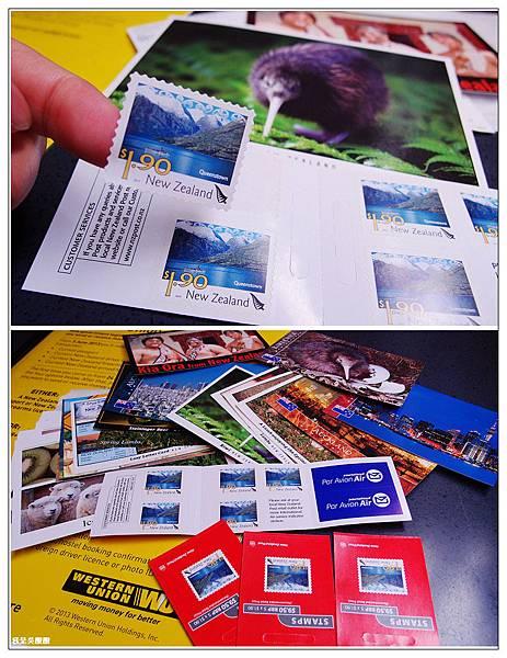 128-紐西蘭寄明信片