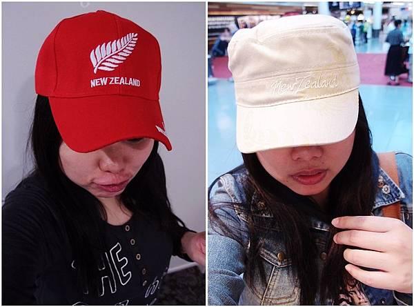 131-紐西蘭紀念帽子