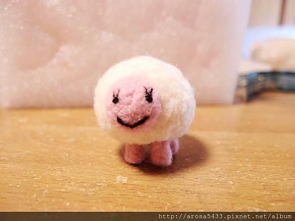 01-酸酸羊毛氈針氈 綿羊
