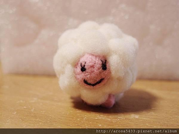 02-酸酸羊毛氈針氈 綿羊