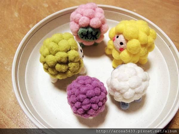 07-酸酸羊毛氈針氈 綿羊