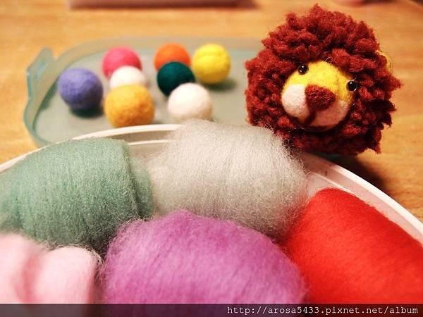 19-羊毛氈 針氈 圓球