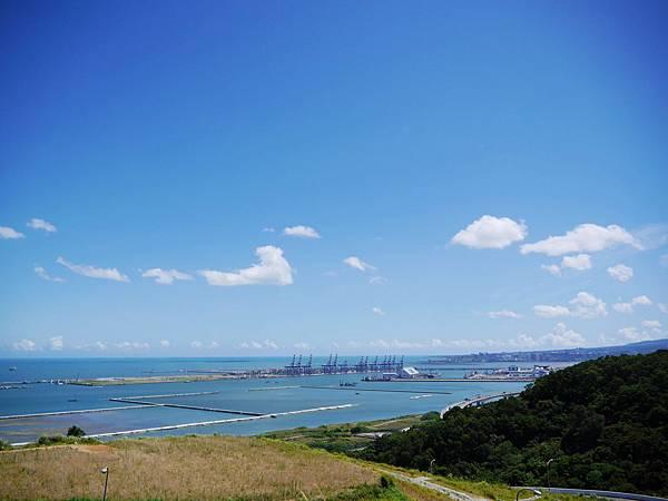 32-八里掩埋場俯瞰台北港