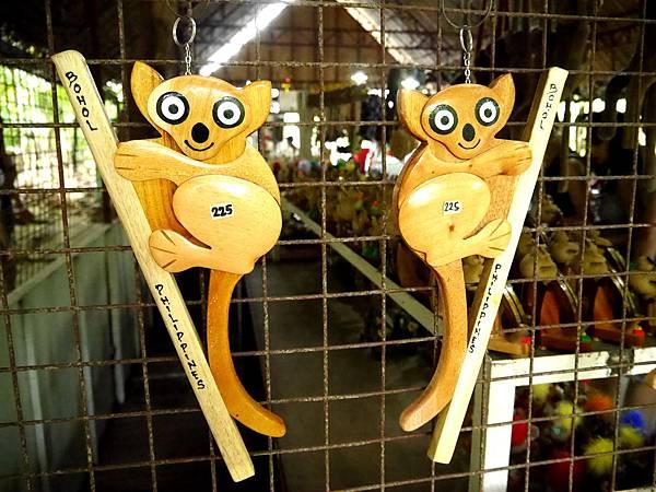 26-薄荷島眼鏡猴保護園區紀念品.JPG