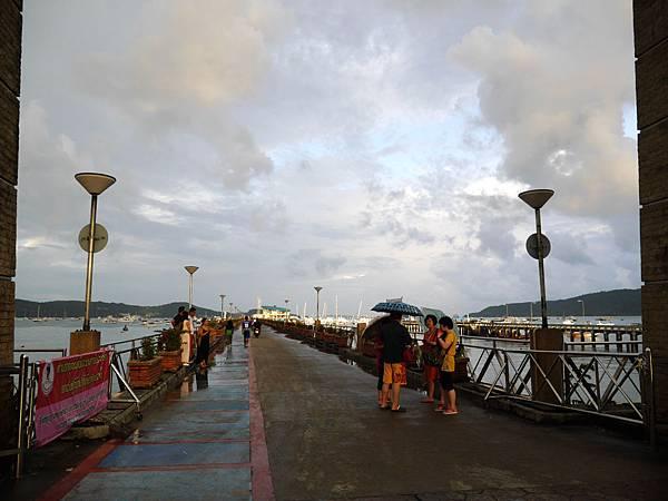 37-普吉島南部最大碼頭 Ao Chalong pier.JPG