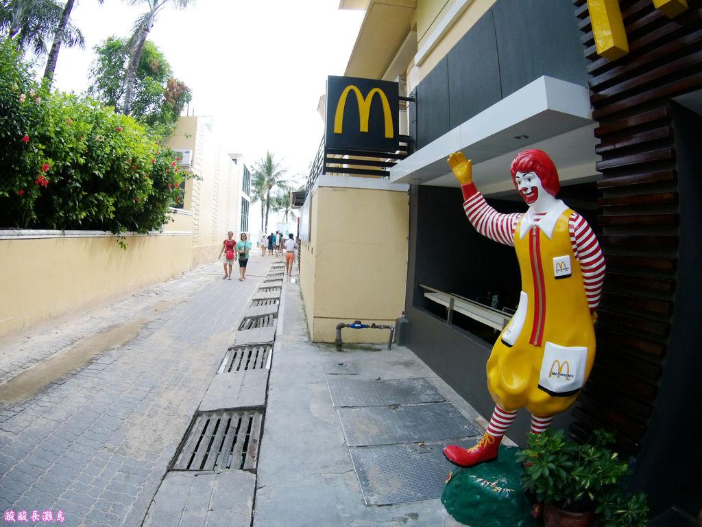 13-長灘島麥當勞 通往S2沙灘.JPG