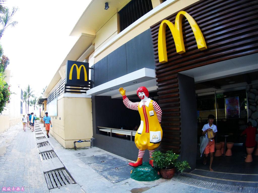 14-長灘島麥當勞 通往S2沙灘.JPG