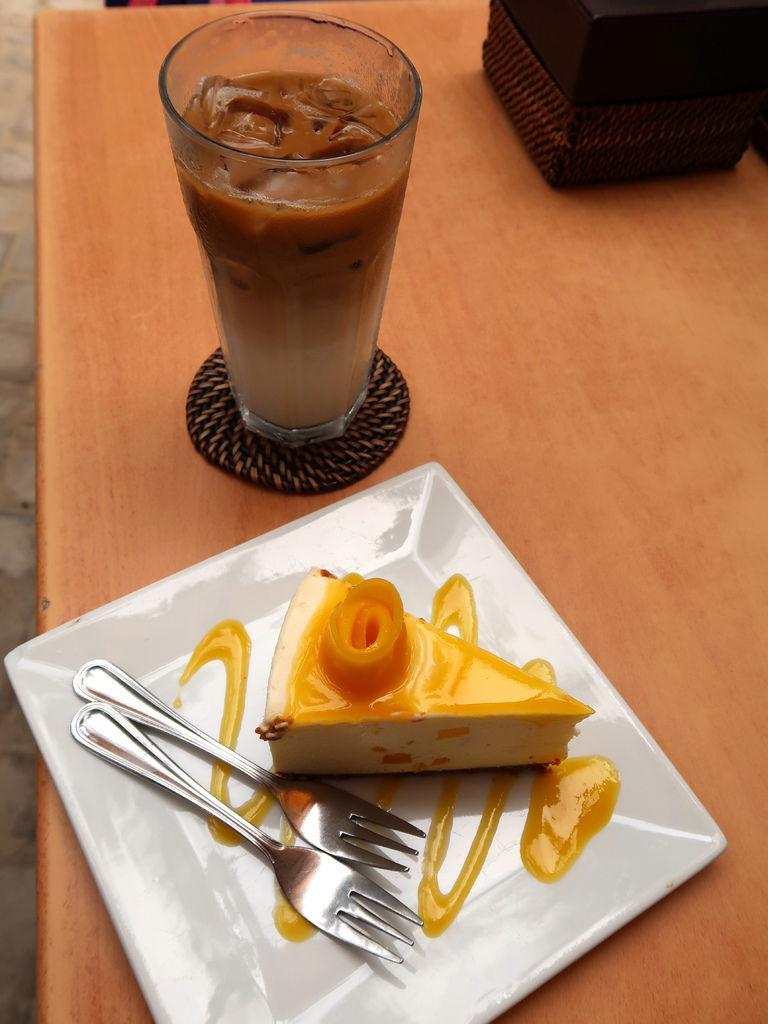 14-長灘島咖啡廳 Cafe del sol Boracaya芒果起司蛋糕.JPG